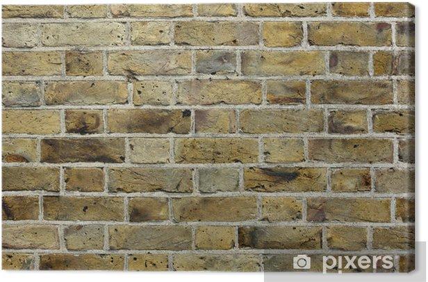 Tableau sur toile Vieux mur de briques texture de fond - Textures