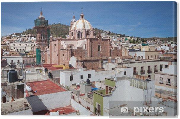 Tableau sur toile Ville coloniale de Zacatecas, Mexique - Amérique