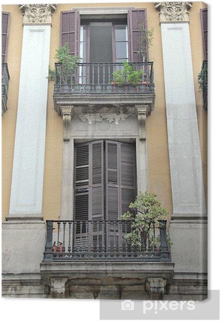 Tableau sur toile Ville de Barcelone, Espagne - Propriétés privées