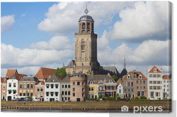 Tableau sur toile Ville de Deventer - Pays-Bas - Europe
