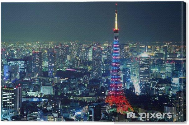 Tableau sur toile Ville de tokyo - Thèmes
