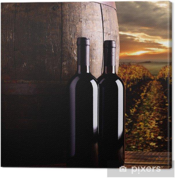 Tableau sur toile Vin rouge - Thèmes