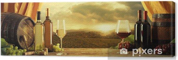 Tableau sur toile Vin - Thèmes