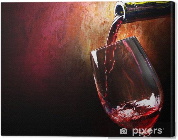 Tableau sur toile Vin - Vin