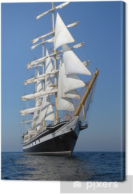Tableau sur toile Voilier. série de navires et yachts - iStaging