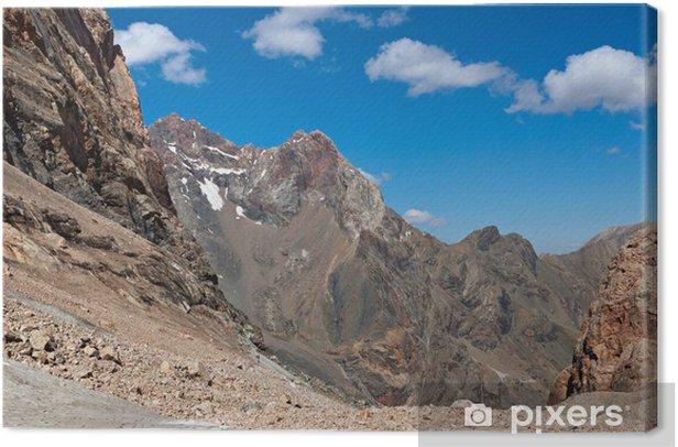 Tableau sur toile Vue de montagne - Nature et régions sauvages