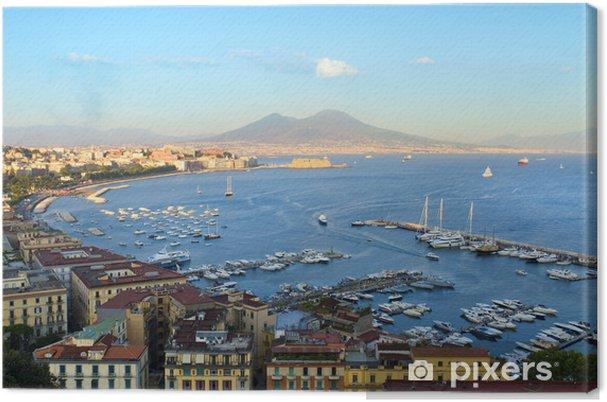 Tableau sur toile Vue de Naples - Europe