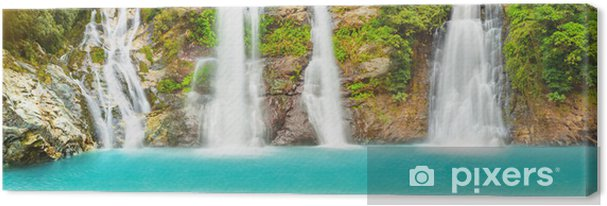 Tableau sur toile Waterfall panorama - Thèmes