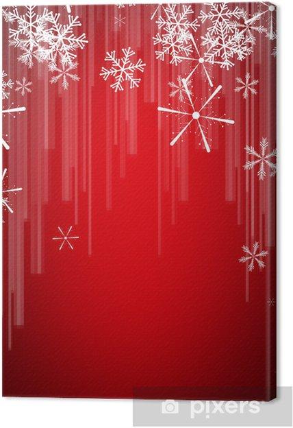 Tableau sur toile Weihnachtskarte - Fêtes internationales
