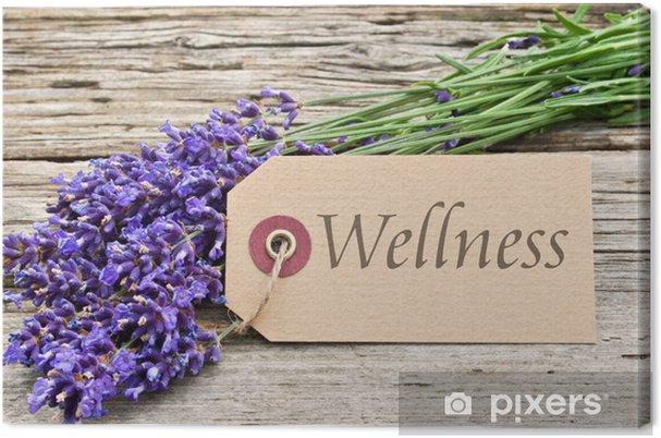 Tableau sur toile Wellness - Beauté et soins du corps
