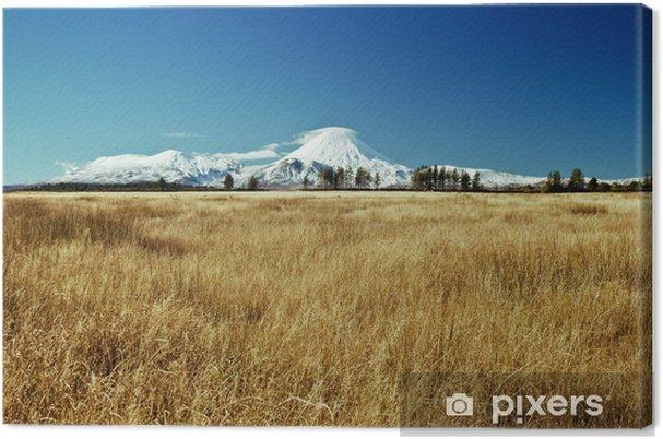 Tableau sur toile White mountain - Océanie