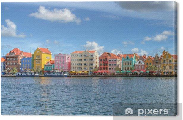 Tableau sur toile Willemstad Curacao auf - Vacances