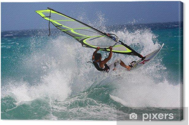 Tableau sur toile Windsurfen - Sports aquatiques