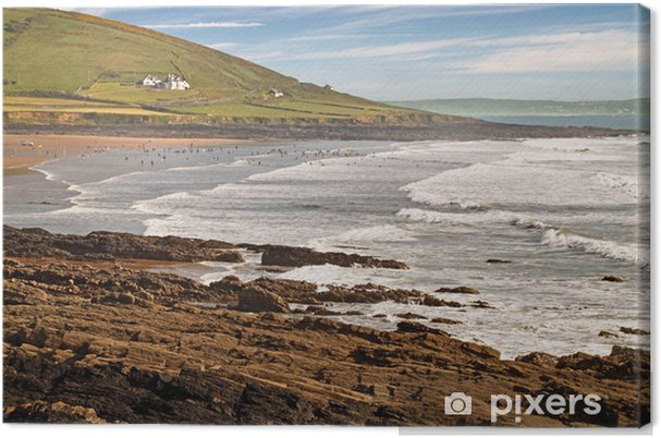 Tableau sur toile Woolacombe - Campagne