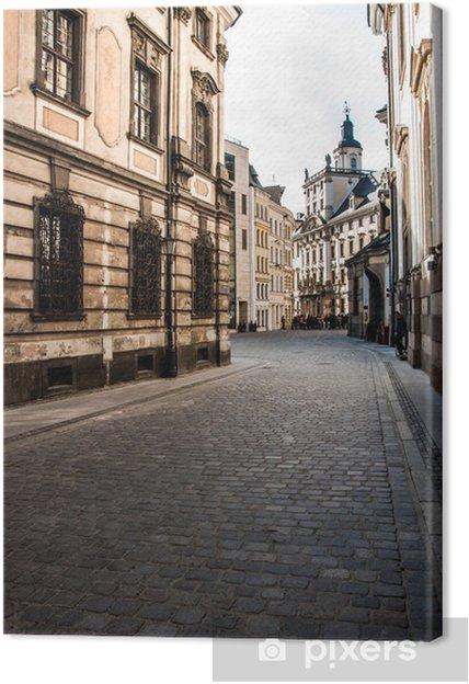 Tableau sur toile Wroclaw le lieu de rencontre - Thèmes