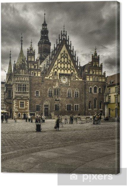 Tableau sur toile Wroclaw-rynek - Thèmes