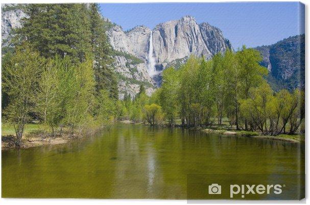 Tableau sur toile Yosemite Falls eau dans le Parc national de Yosemite - Agriculture