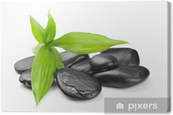 Tableau sur toile Zen stones - Santé et médecine
