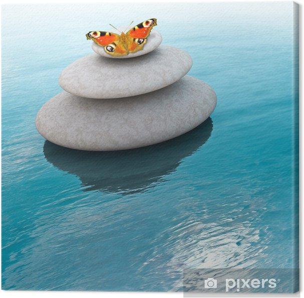 Tableau sur toile Zen stones - Thèmes