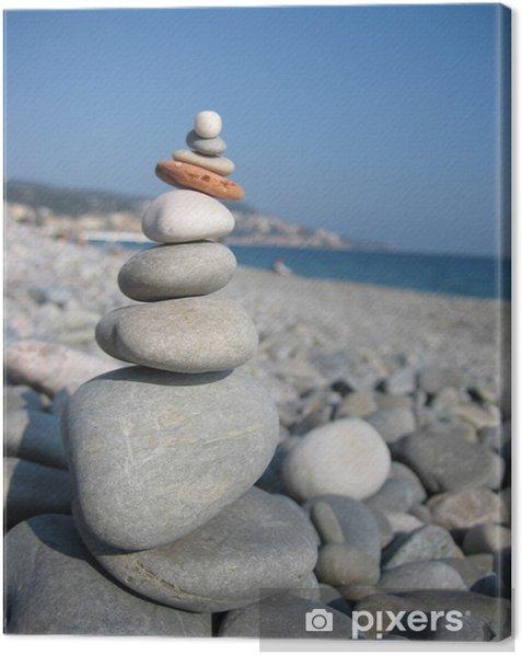 Tableau sur toile Zen zen - Abstrait