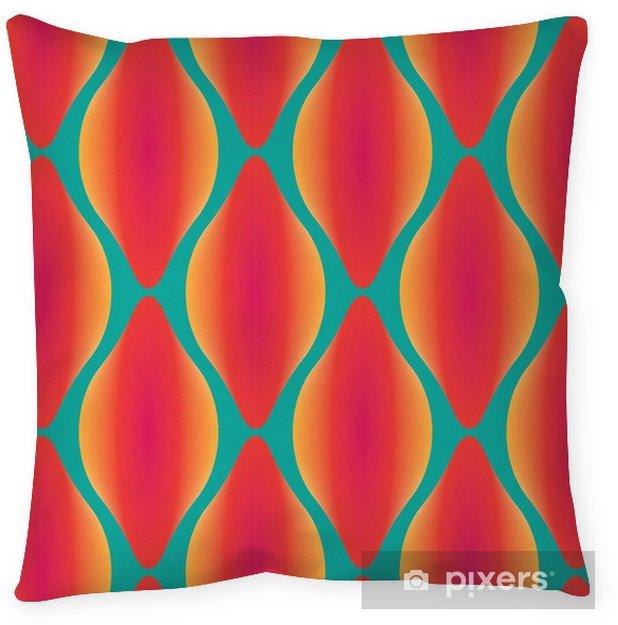 Taie d'oreiller Vecteur coloré motif géométrique abstrait sans soudure contemporaine - Ressources graphiques