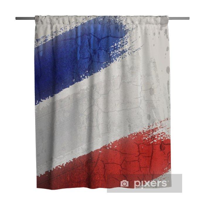 Tenda da doccia Bandiera della Francia - Risorse Grafiche