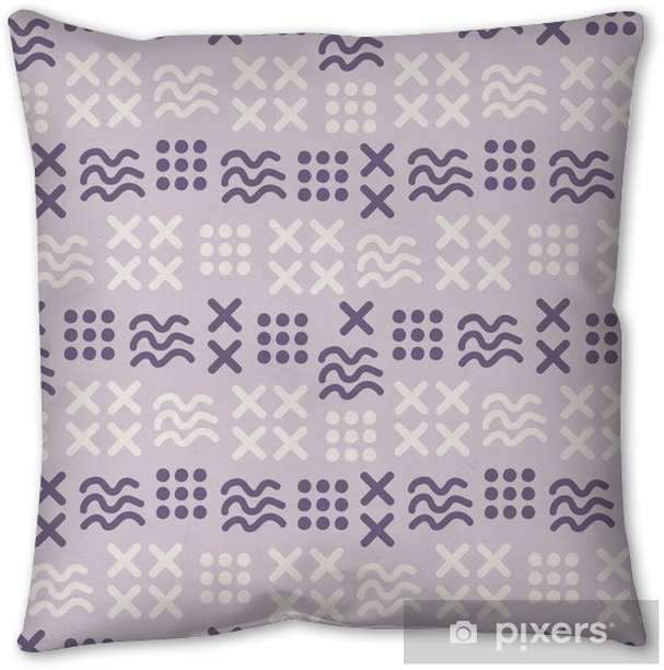 abstract seamless pattern Throw Pillow - Graphic Resources