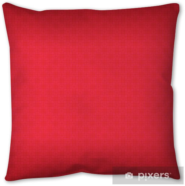 Background image red color with square pattern. Throw Pillow - Graphic Resources