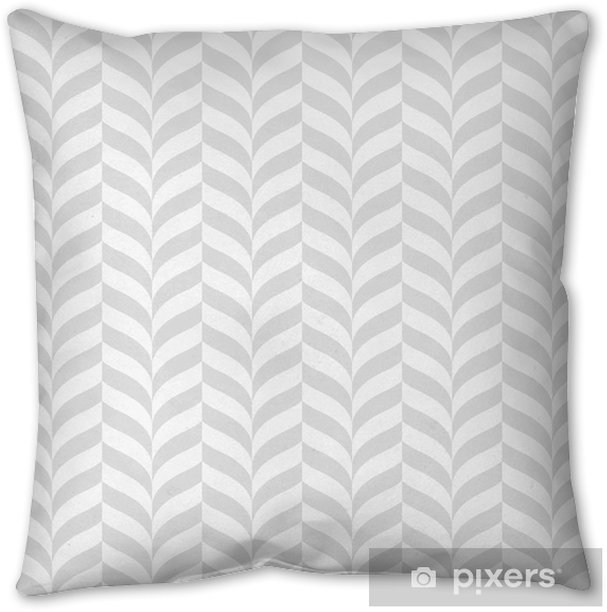 Geometric pattern, vector seamless background Throw Pillow - Graphic Resources