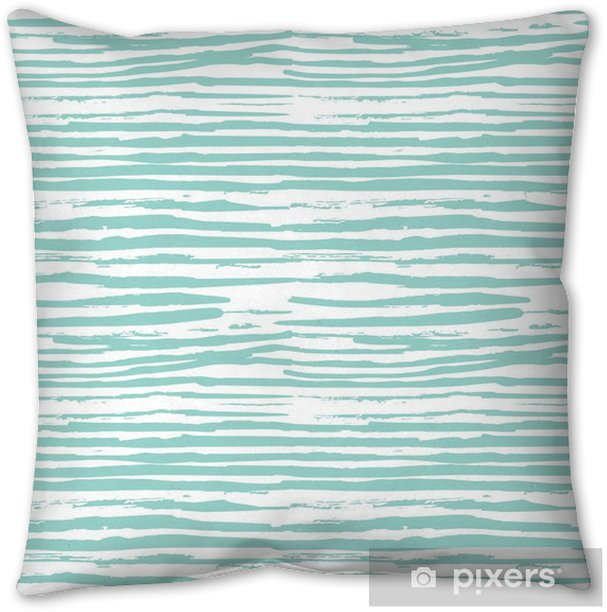 hand drawn seamless patterns. Vector background stripe design Throw Pillow - Hobbies and Leisure