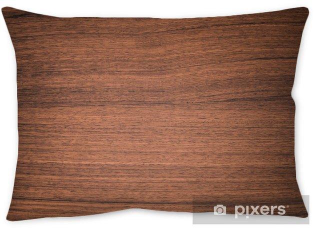 Pattern Detail Of Teak Wood Texture Throw Pillow