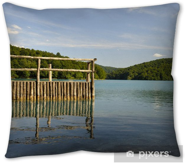 Plitvice Lakes National Park Croatia Throw Pillow Pixers We Live To Change