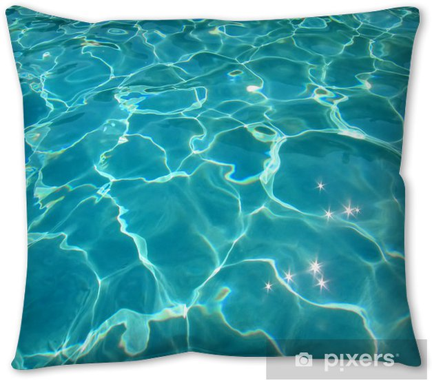 Pool Water Throw Pillow Pixers We Live To Change