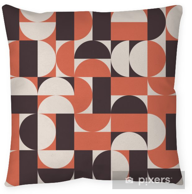 Retro vector background Throw Pillow - Graphic Resources