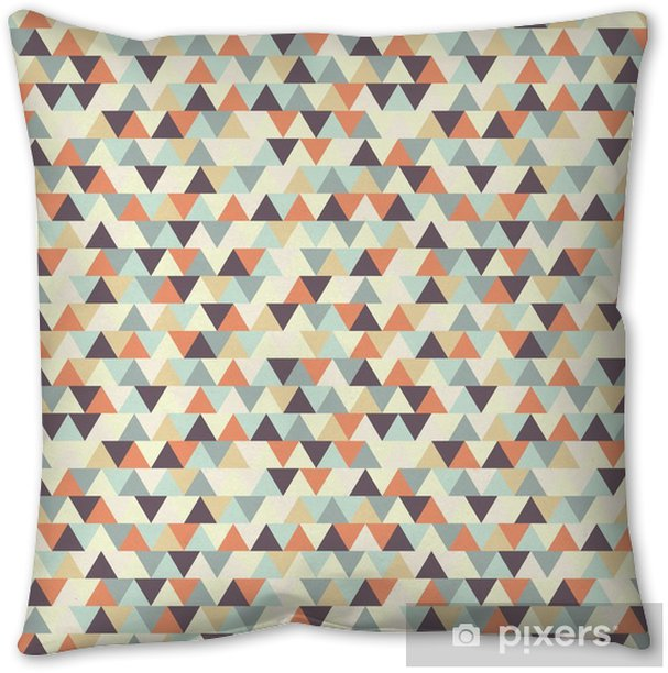 seamless geometric pattern Throw Pillow - Graphic Resources