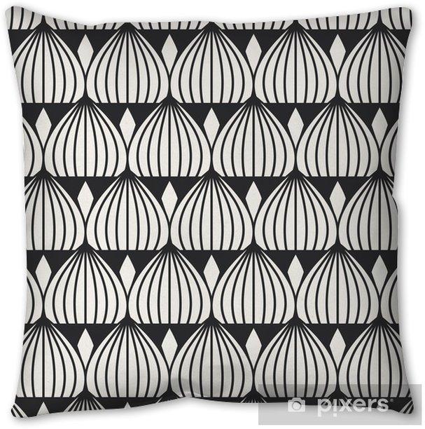 seamless geometric pattern Throw Pillow -