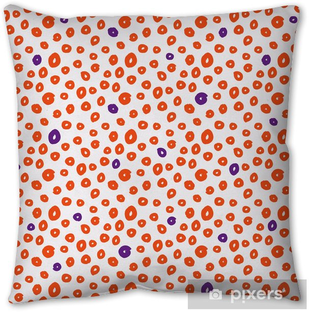 seamless pattern with brushstrokes Throw Pillow - Graphic Resources