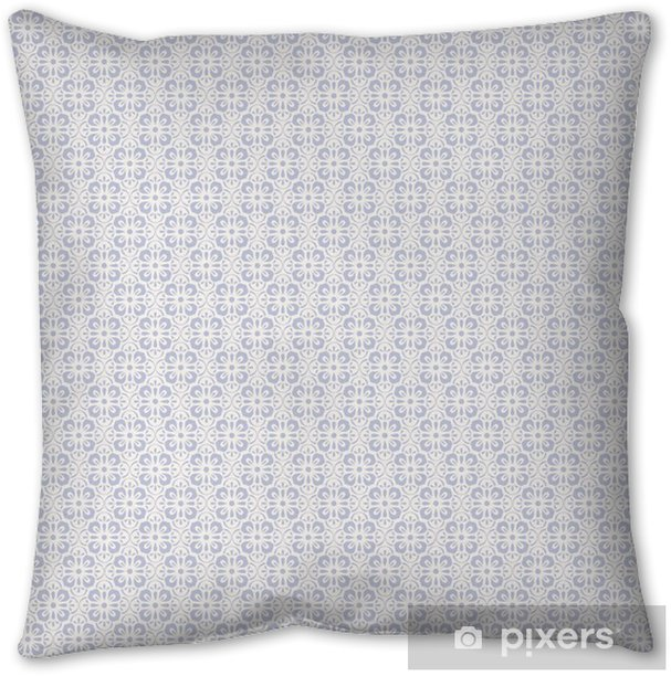 seamless vintage pattern Throw Pillow - Graphic Resources