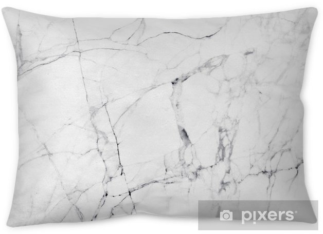 White marble texture and background. Throw Pillow - Graphic Resources