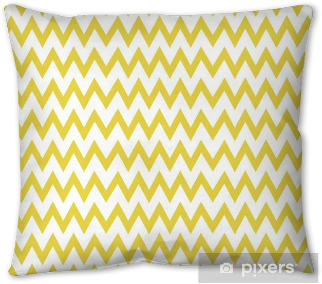 Zigzag pattern vector Throw Pillow - Graphic Resources