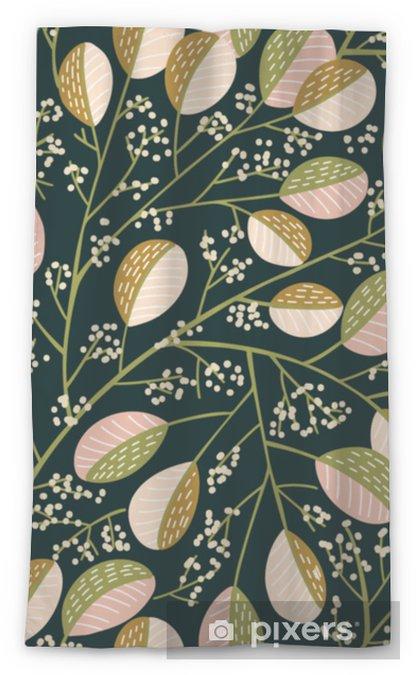 Transparant gordijn Naadloze lente boom patroon - Bloemen en Planten