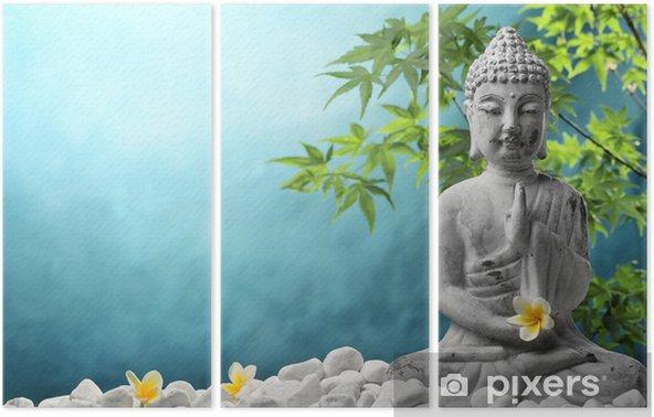 Tríptico Buda en meditación - Estilos