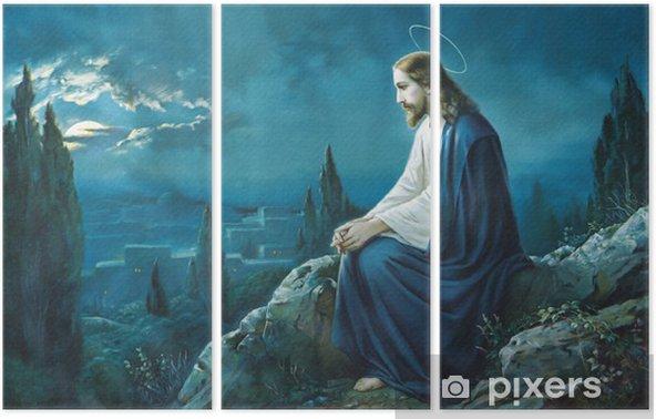 Tríptico La oración de Jesús en el huerto de Getsemaní. - Temas