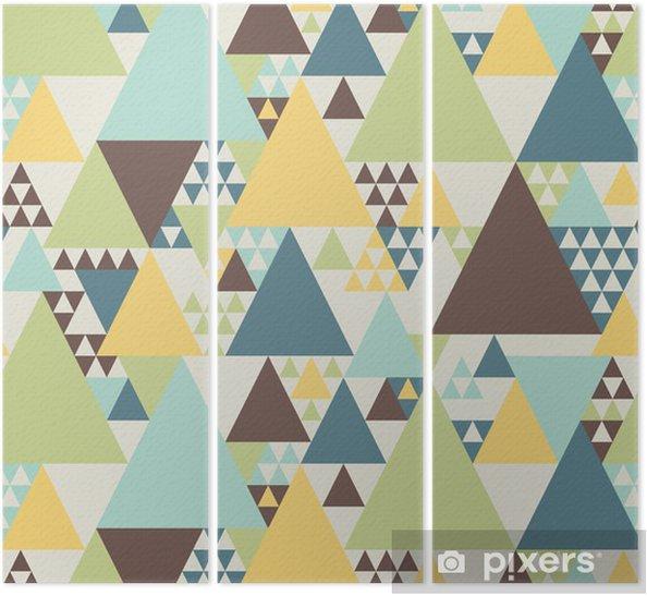 Tríptico Resumen patrón geométrico # 2 - Estilos