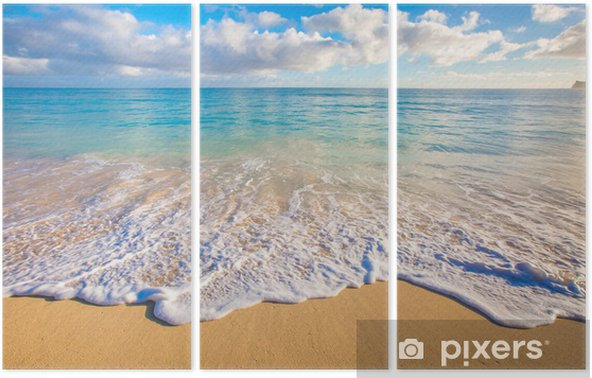 Hawaii Beaches Triptych - Islands
