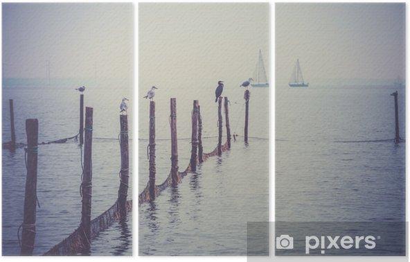 Northern Sea landscape Triptych - Landscapes