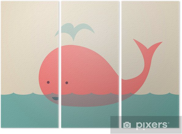 Triptychon Nette Whale - Themen