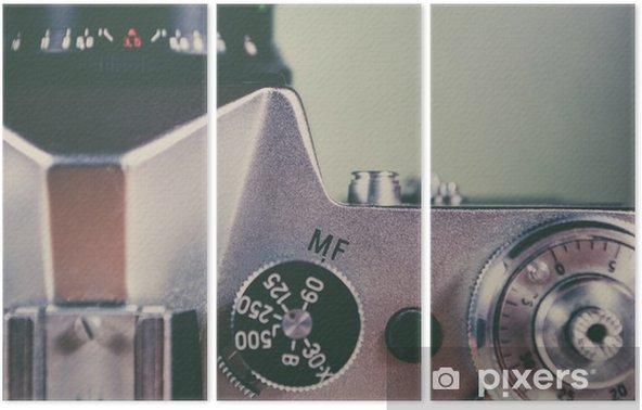 Tryptyk Retro kamery i urządzenia - Hobby i rozrywka