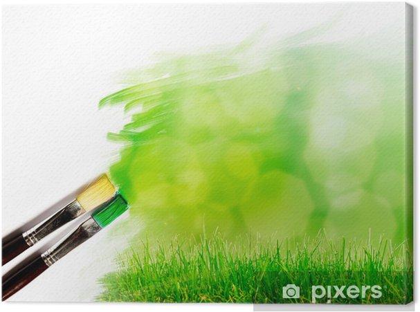 Güzel Manzara Sanatçı Fırça Boyama Resim Tuval Baskı Pixers