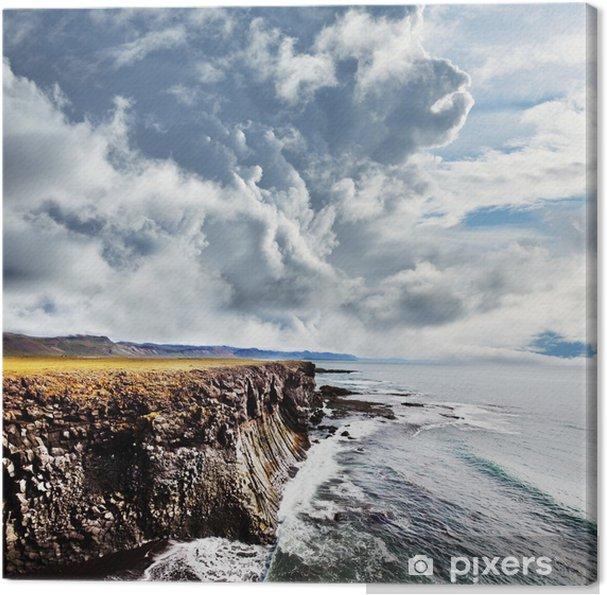 Tuval Baskı İzlanda sahil - Avrupa